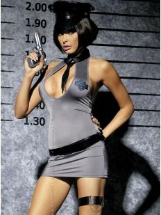 Женский эротический костюм Полицейского для ролевых игр