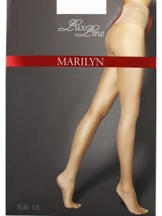 Высокие колготки c шелковистым поясом Marilyn SILK 15