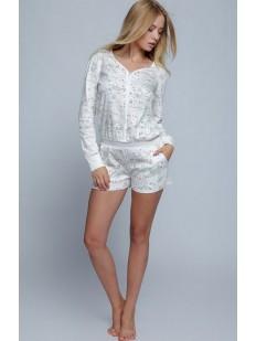 Женская хлопковая пижама комбинезон с шортами Sensis LIVE