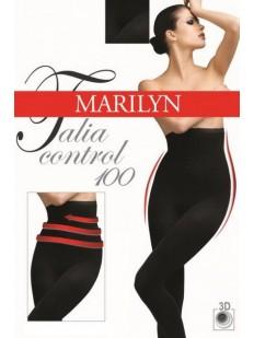 Высокие теплые колготки Marilyn TALIA CONTROL 100