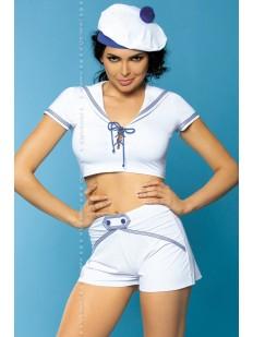 Женский эротический костюм Морячки для ролевых игр