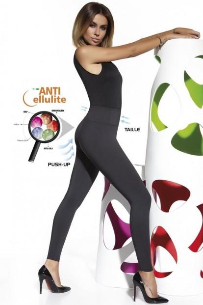Женские моделирующие антицеллюлитные легинсы Bas Bleu CANDY 300 leggings push-up - фото 1
