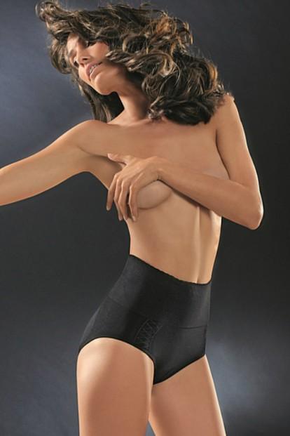 Корректирующие женские трусы слипы с высокой талией Control Body Slip Gold - фото 1
