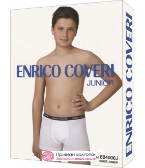 Бельё мужское Enrico Coveri Eb4000 Junior Boxer