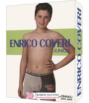 Бельё мужское Enrico Coveri Eb4042 Junior Boxer