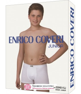 Бельё мужское Enrico Coveri Eb4015 Junior Boxer
