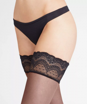 Ультратонкие чулки Falke Invisible Deluxe 8 Stay-up (40560)