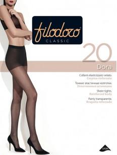 Классические колготки с шортиками Filodoro Classic DORA 20