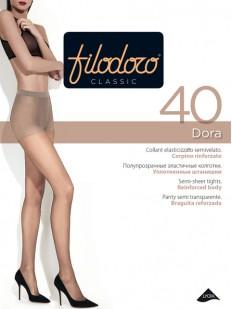 Классические колготки с шортиками Filodoro Classic DORA 40