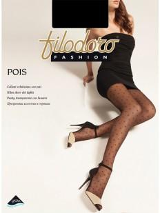 Летние колготки в горошек Filodoro Classic POIS 10
