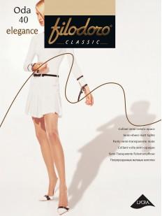 Классические колготки с шортиками Filodoro Classic ODA 40