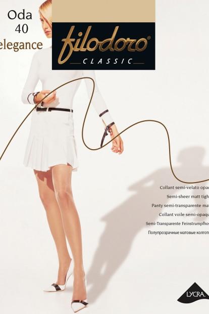 Классические колготки с шортиками Filodoro Classic ODA 40 Elegance - фото 1