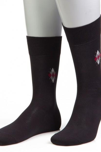 Мужские классические хлопковые носки GRINSTON 15D4 cotton - фото 1