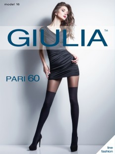 Колготки с имитацией чулок Giulia PARI 16