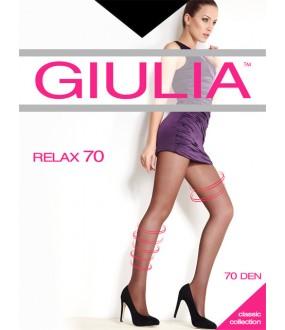 Прозрачные лечебные колготки Giulia RELAX 70
