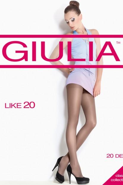 Классические колготки с шортиками 20 ден Giulia LIKE - фото 1