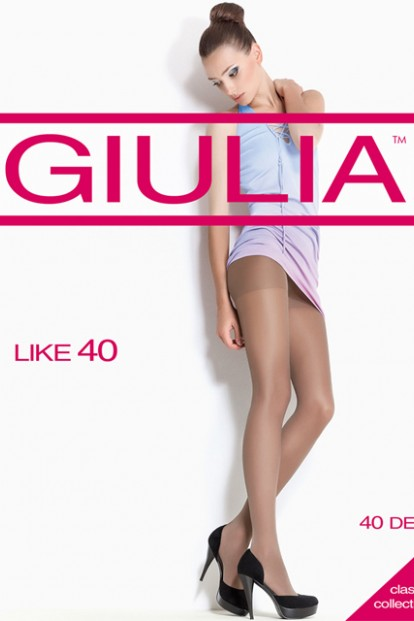 Классические колготки с шортиками 40 ден Giulia LIKE - фото 1