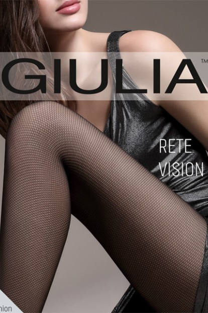 Колготки в сетку микротюль Giulia RETE VISION 01 - фото 1