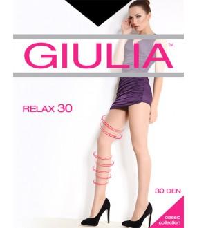 Прозрачные лечебные колготки Giulia RELAX 30
