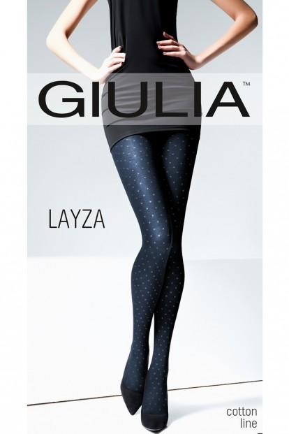Цветные хлопковые колготки в горошек Giulia LAYZA 04 - фото 1