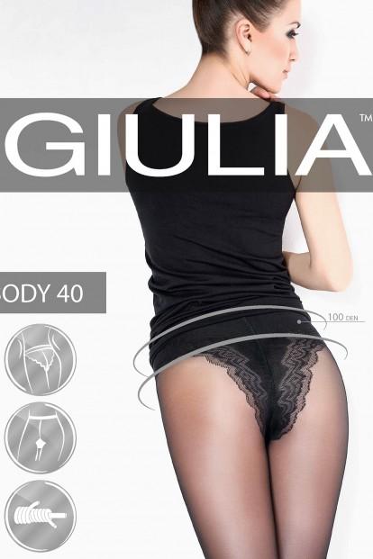 Корректирующие колготки с трусиками Giulia BODY 40 den - фото 1
