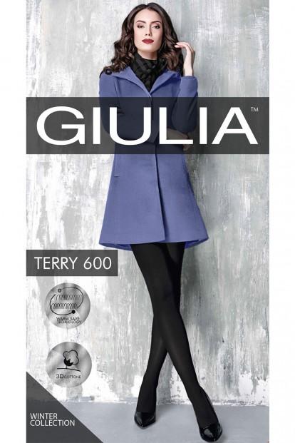 Теплые хлопковые колготки Giulia TERRY 600