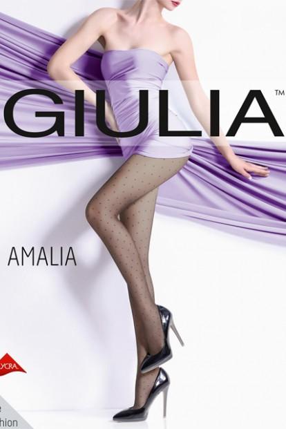 Тонкие колготки в горошек 20 ден Giulia AMALIA 01 - фото 1