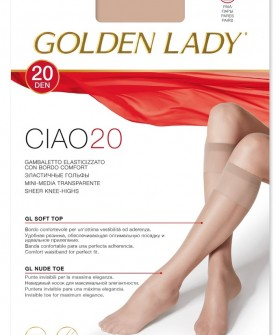 Гольфы Golden Lady CIAO 20 den (2 пары)