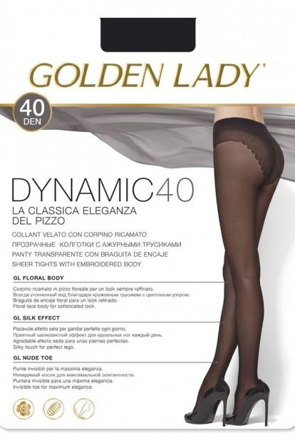 Классические колготки с трусиками Golden Lady DYNAMIC 40 - фото 1