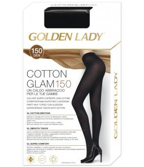 Хлопковые колготки Golden Lady COTTONGLAM 150