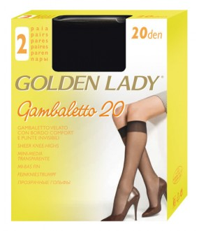 Гольфы Golden Lady Gambaletto 20, 2 Paia
