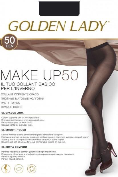Классические матовые колготки на каждый день Golden Lady MAKE UP 50 - фото 1