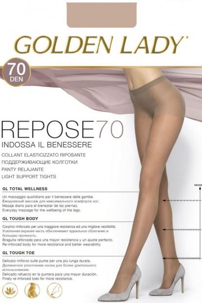 Плотные поддерживающие колготки Golden Lady REPOSE 70 - фото 1