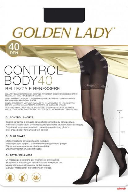 Утягивающие колготки с шортиками Golden Lady CONTROL BODY 40