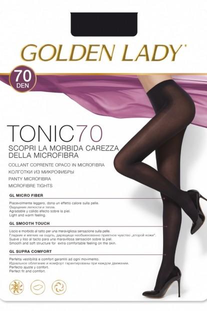 Классические матовые колготки Golden Lady TONIC 70 - фото 1
