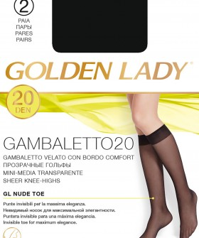 Гольфы Golden Lady GAMBALETTO 20 den (2 пары)
