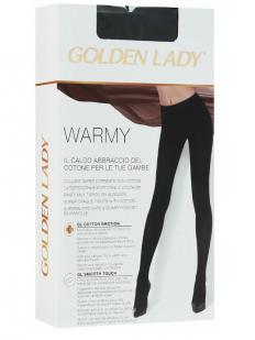Теплые хлопковые колготки Golden Lady WARMY 300