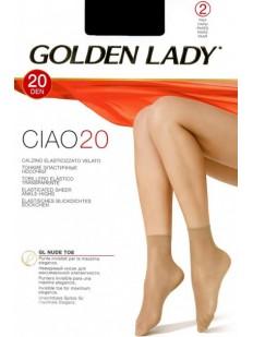 Капроновые носки (2 пары) Golden Lady CIAO 20