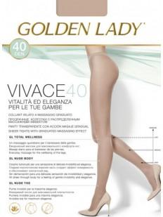 Классические поддерживающие колготки Golden Lady VIVACE 40
