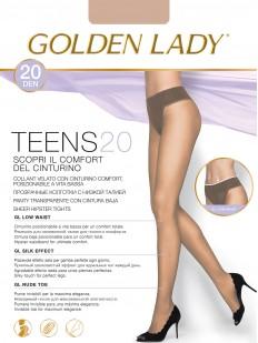 Колготки с низкой посадкой Golden Lady TEENS 20 Vita Bassa