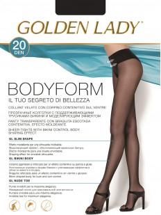 Колготки с поясом и трусиками Golden Lady BODY FORM 20