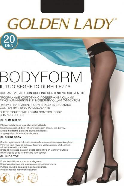 Женские колготки с утягивающим поясом Golden Lady BODY FORM 20 - фото 1