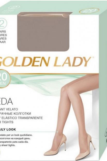 Классические матовые колготки без эластана Golden Lady LEDA 20 - фото 1