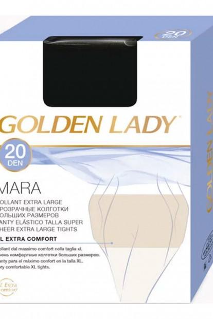 Матовые колготки больших размеров Golden Lady MARA 20 XL - фото 1