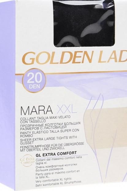 Матовые колготки больших размеров Golden Lady MARA 20 XXL - фото 1
