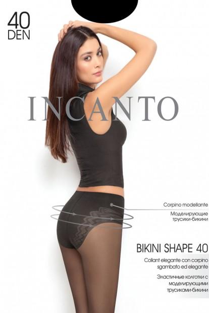 Корректирующие колготки с трусиками Incanto BIKINI SHAPE 40
