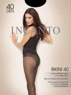 Классические женские колготки с трусиками бикини 40 ден