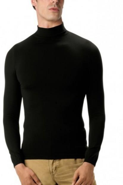 Мужская бесшовная водолазка Intimidea Uomo T-Shirt Dolcevita Manica Lunga - фото 1