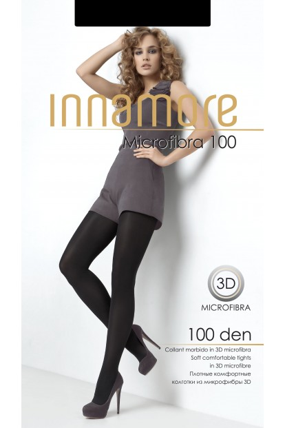 Теплые матовые колготки Innamore MICROFIBRA 100 - фото 1