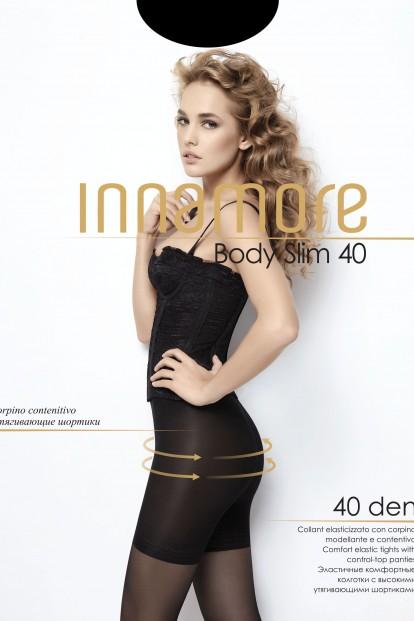 Утягивающие колготки с шортиками Innamore BODY SLIM 40 - фото 1